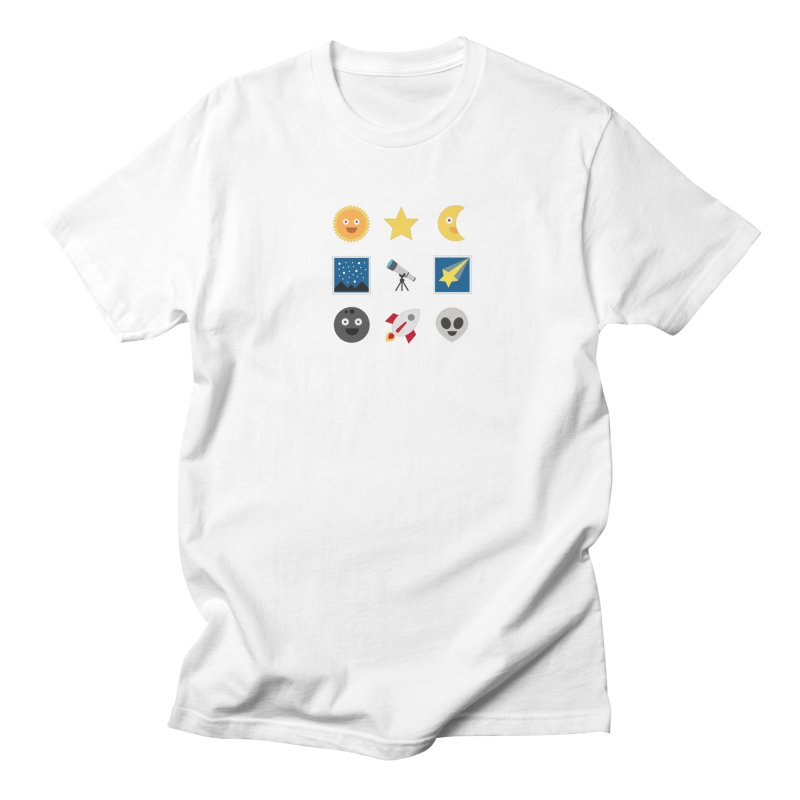 Sky Men's Regular T-Shirt by emoji's Artist Shop