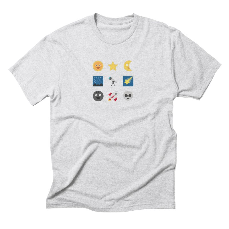 Sky Men's Triblend T-Shirt by emoji's Artist Shop