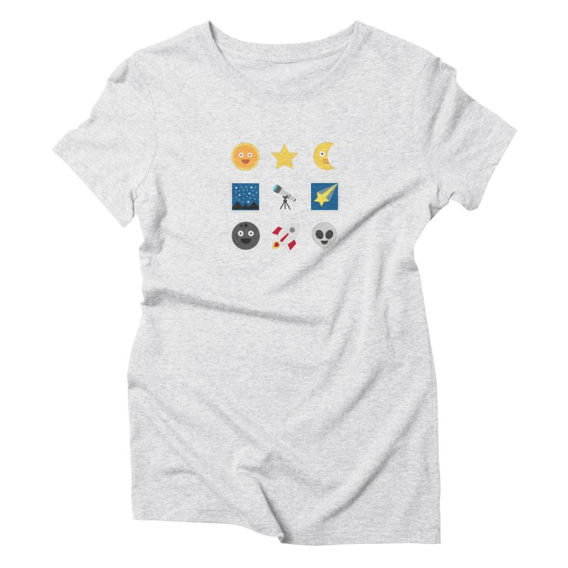 Sky Women's Triblend T-Shirt by emoji's Artist Shop