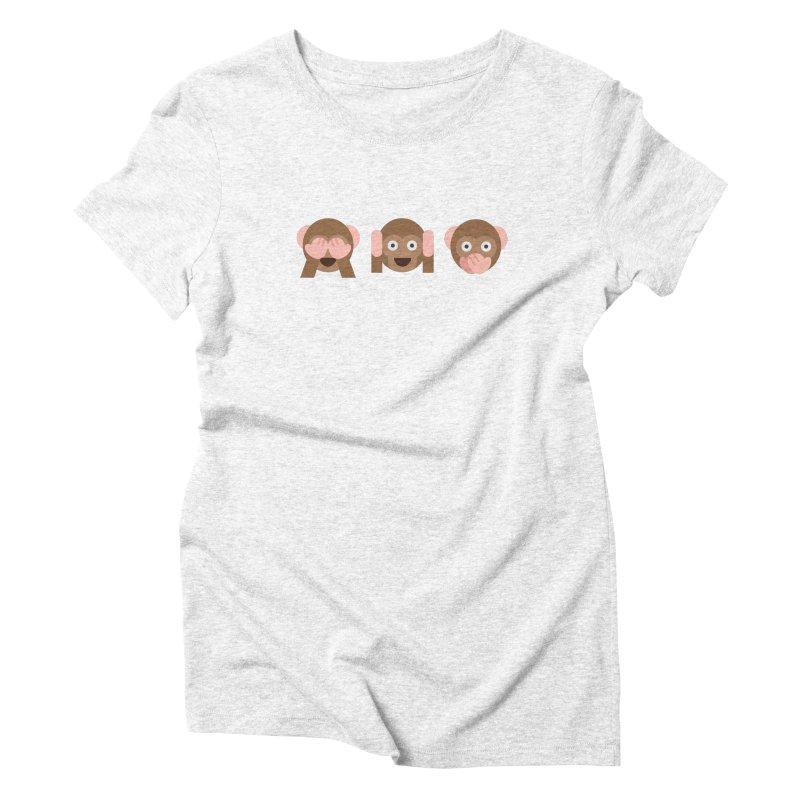 Three Wise Monkeys   by emoji's Artist Shop
