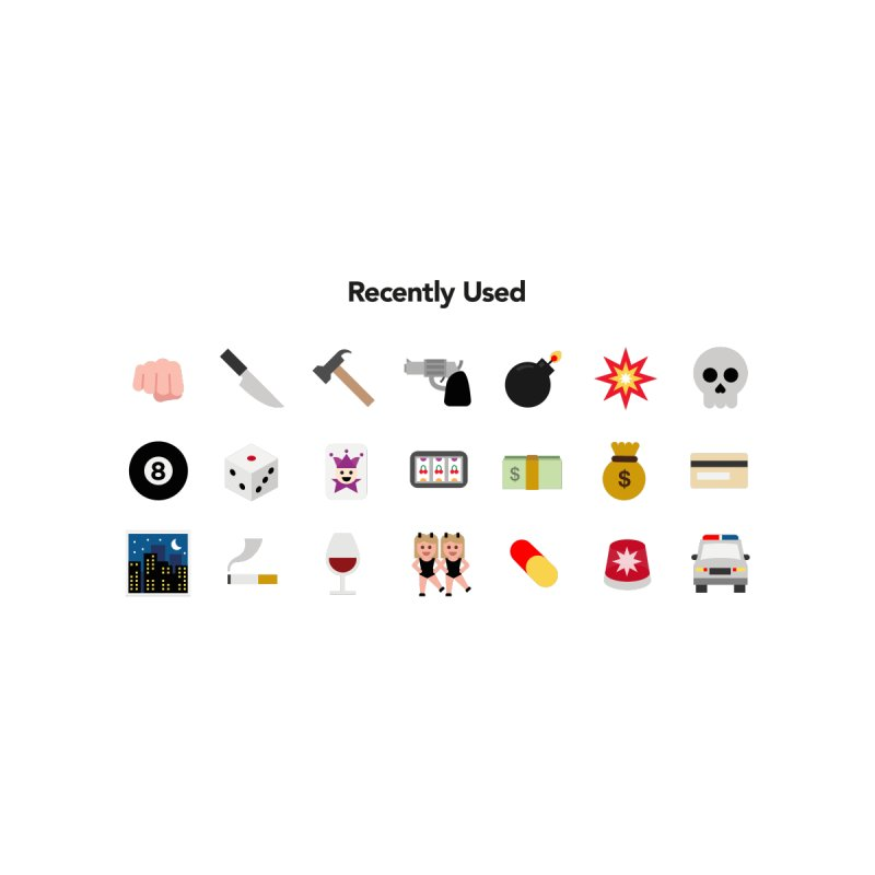 Thug Life None  by emoji's Artist Shop