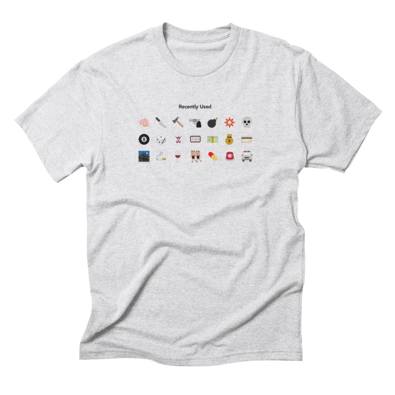 Thug Life Men's Triblend T-Shirt by emoji's Artist Shop