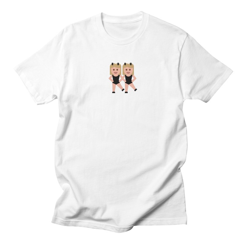 Woman With Bunny Ears Men's Regular T-Shirt by emoji's Artist Shop