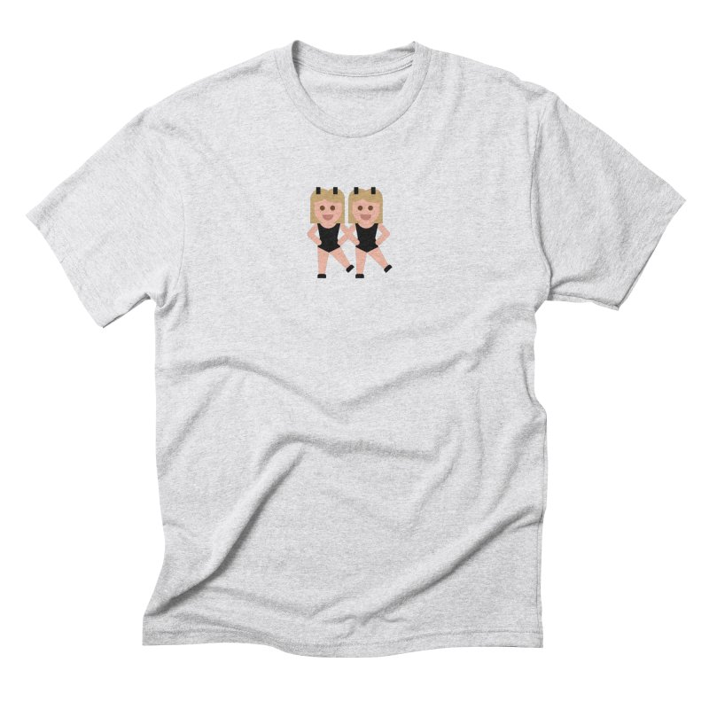 Woman With Bunny Ears Men's Triblend T-Shirt by emoji's Artist Shop