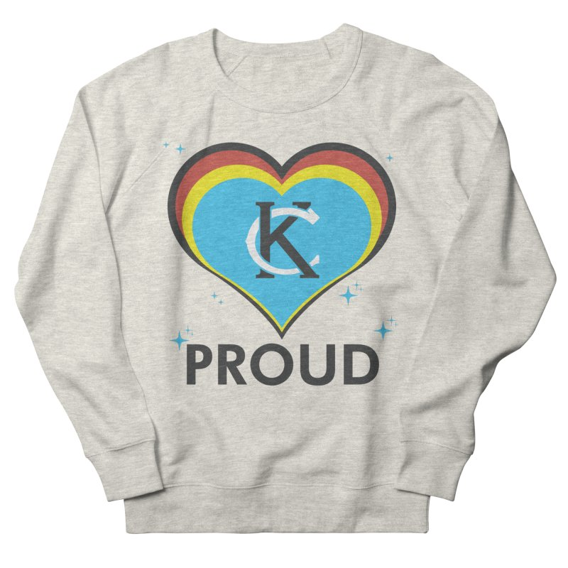 KC Proud in Women's Sweatshirt Heather Oatmeal by Emoji My City