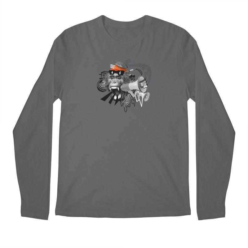 Chimpanscream Men's Longsleeve T-Shirt by Emojo's Artist Shop