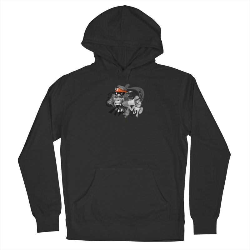 Chimpanscream Men's Pullover Hoody by Emojo's Artist Shop