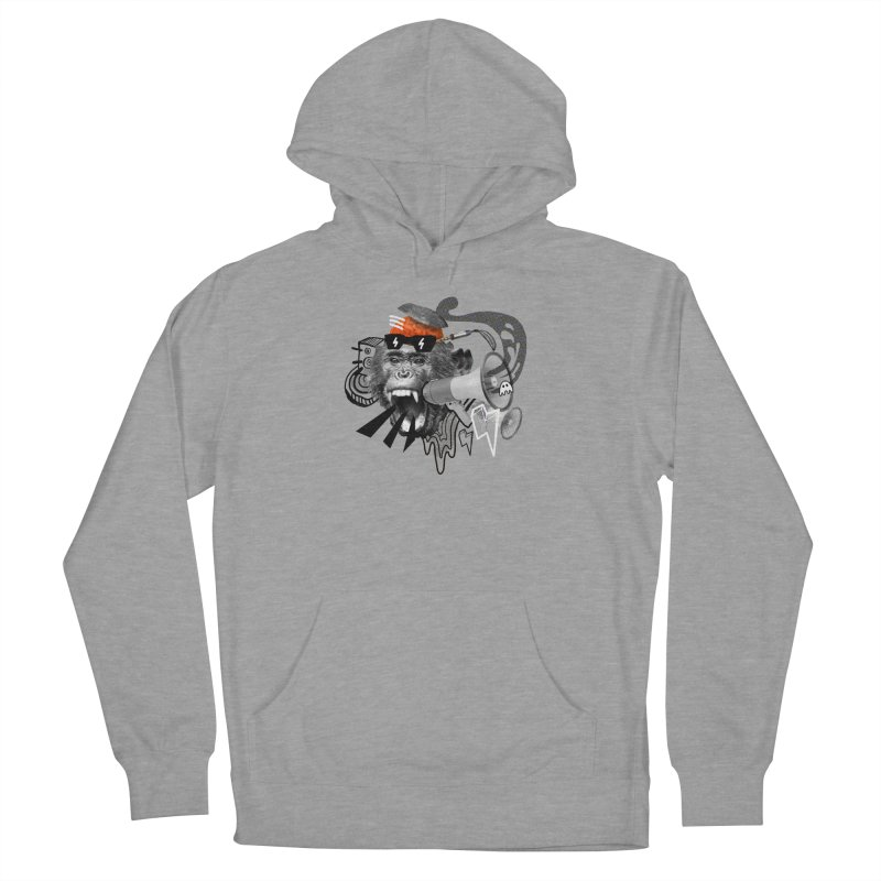 Chimpanscream Women's Pullover Hoody by Emojo's Artist Shop