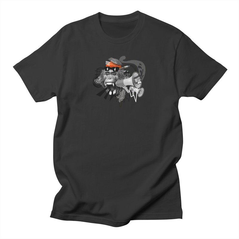 Chimpanscream Men's T-Shirt by Emojo's Artist Shop