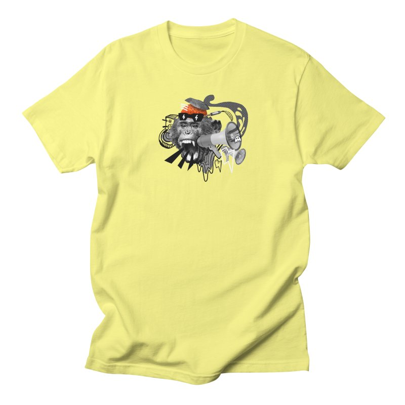 Chimpanscream Men's T-Shirt by Emojo's Artist Shop