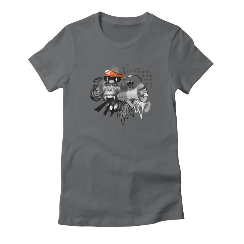 Chimpanscream Women's T-Shirt by Emojo's Artist Shop