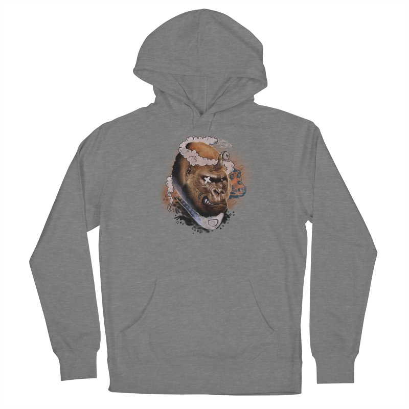 Gorilla from Manilla Women's Pullover Hoody by Emojo's Artist Shop