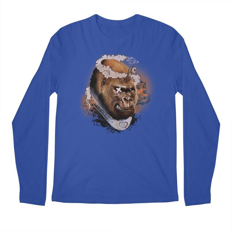 Gorilla from Manilla Men's Longsleeve T-Shirt by Emojo's Artist Shop
