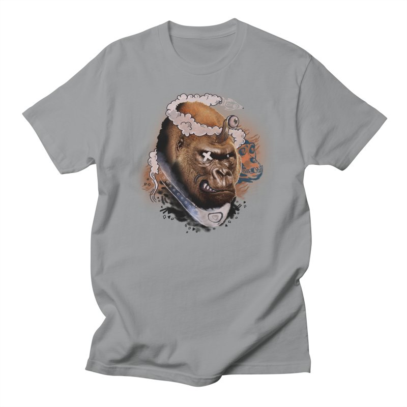 Gorilla from Manilla Men's T-Shirt by Emojo's Artist Shop