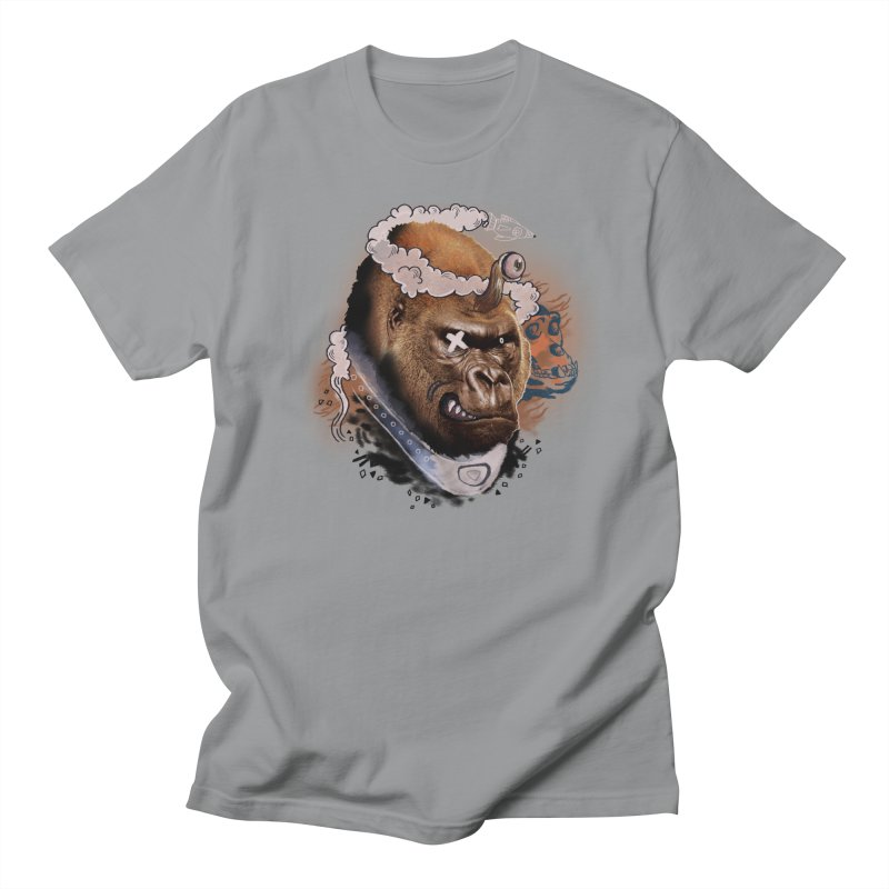 Gorilla from Manilla Men's T-Shirt by Emojo's Artist Shop