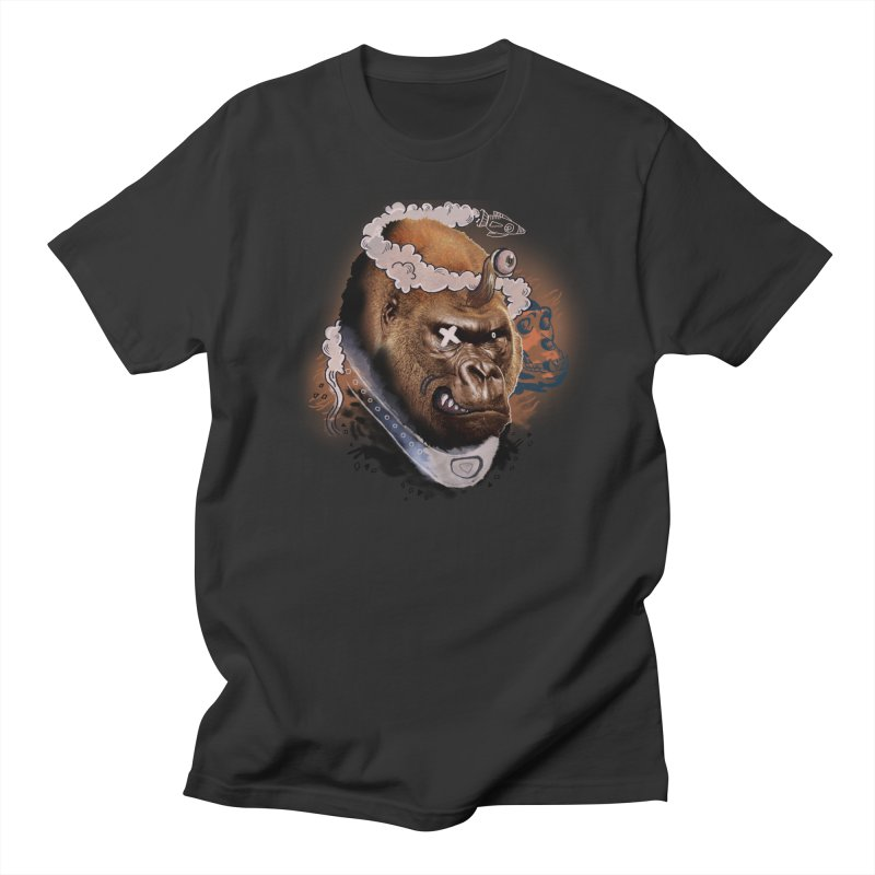 Gorilla from Manilla Men's Regular T-Shirt by Emojo's Artist Shop