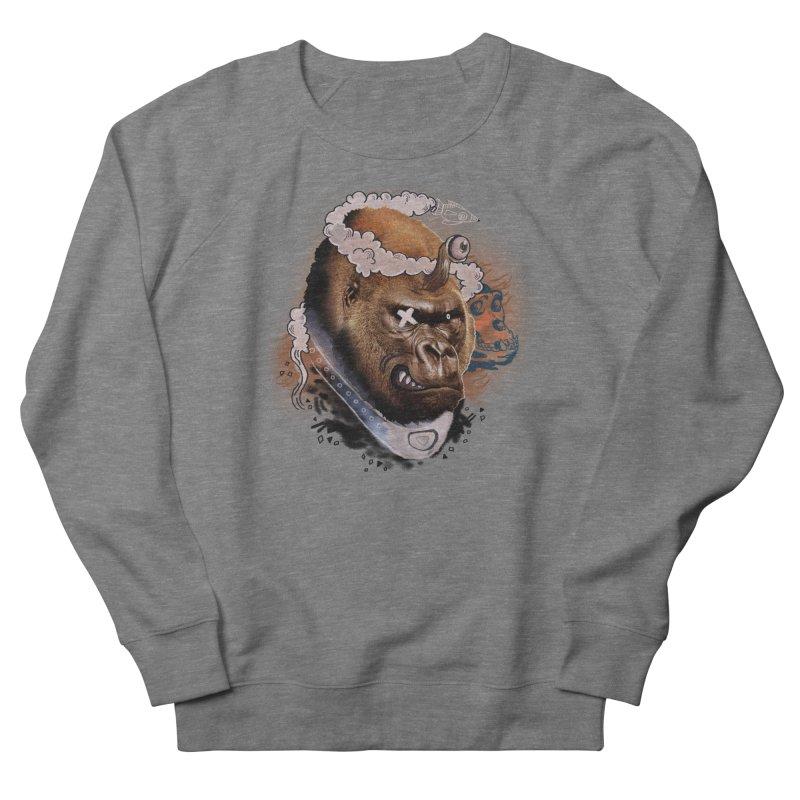 Gorilla from Manilla Men's Sweatshirt by Emojo's Artist Shop