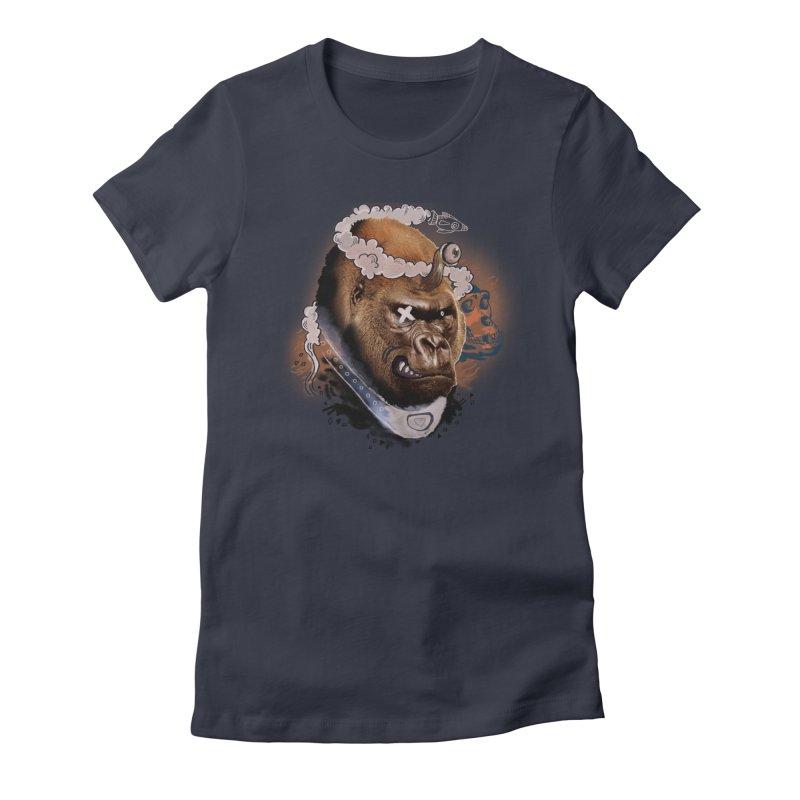 Gorilla from Manilla Women's T-Shirt by Emojo's Artist Shop