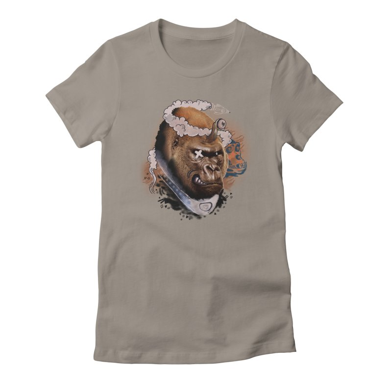 Gorilla from Manilla Women's T-Shirt by Emojo's Artist Shop