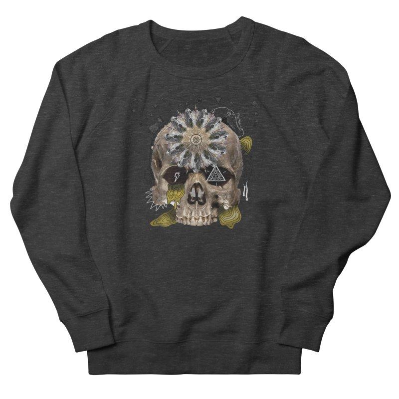 Skull Mandala Men's Sweatshirt by Emojo's Artist Shop