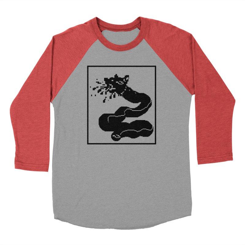 Pixel Dog Snake Men's Longsleeve T-Shirt by Emo Sludge