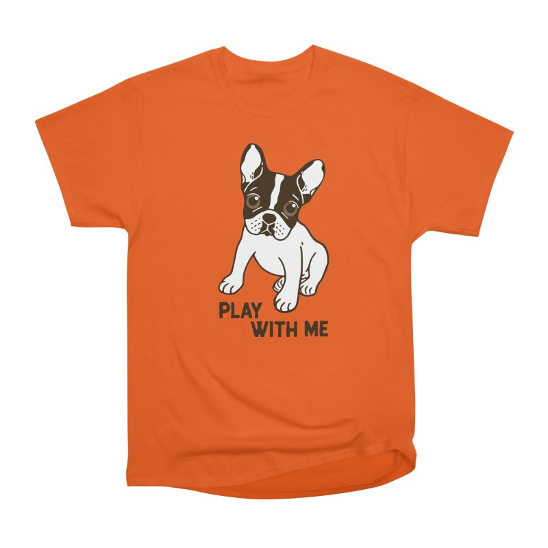 Play With Me Frenchie Design  Women's T-Shirt by Emotional Frenchies - Cute French Bulldog T-shirts