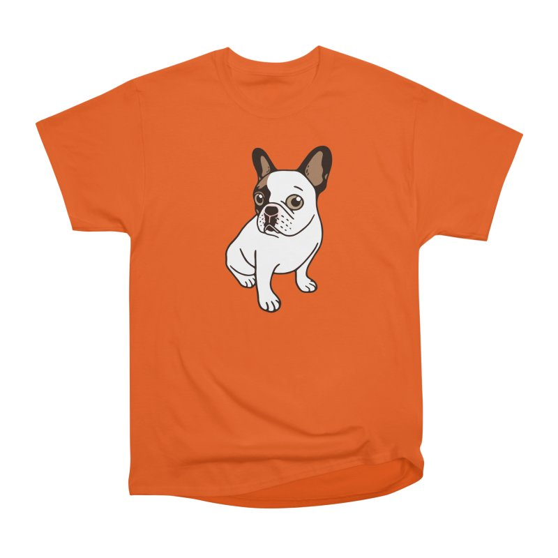 The Adorable Fawn Pied Frenchie  Women's T-Shirt by Emotional Frenchies - Cute French Bulldog T-shirts