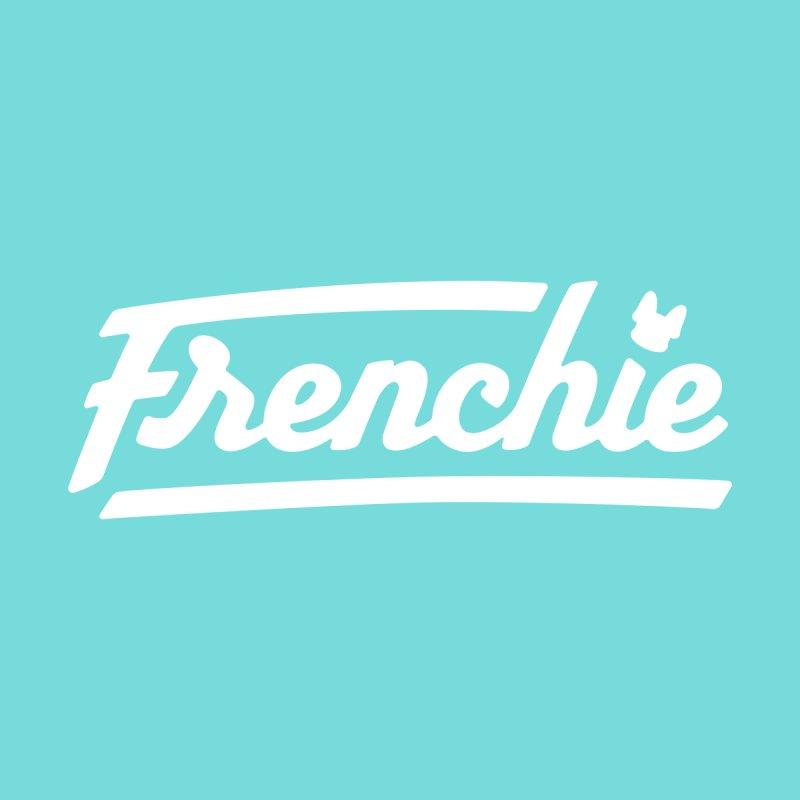 Frenchie Logotype Design  Women's T-Shirt by Emotional Frenchies - Cute French Bulldog T-shirts