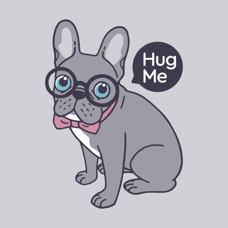 Hug me, cute Lilac Frenchie needs a hug  Women's T-Shirt by Emotional Frenchies - Cute French Bulldog T-shirts
