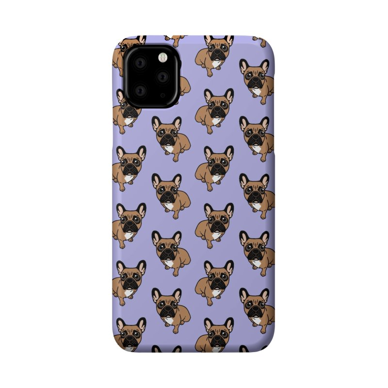 Be nice to the cute black mask fawn Frenchie  Accessories Phone Case by Emotional Frenchies - Cute French Bulldog T-shirts