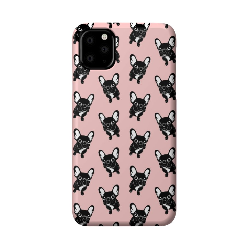 Cute brindle Frenchie is a dreamer  Accessories Phone Case by Emotional Frenchies - Cute French Bulldog T-shirts