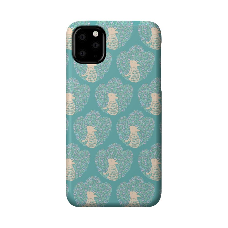 Cream Frenchie and the Spring foliage Accessories Phone Case by Emotional Frenchies - Cute French Bulldog T-shirts