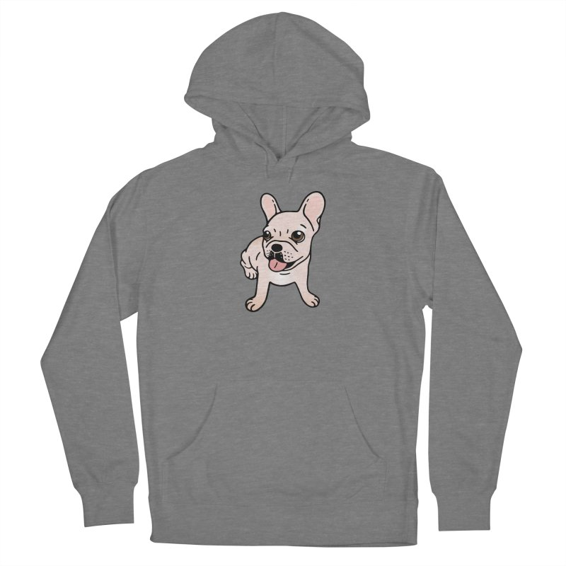 Cute cream Frenchie is ready to play Women's Pullover Hoody by Emotional Frenchies - Cute French Bulldog T-shirts