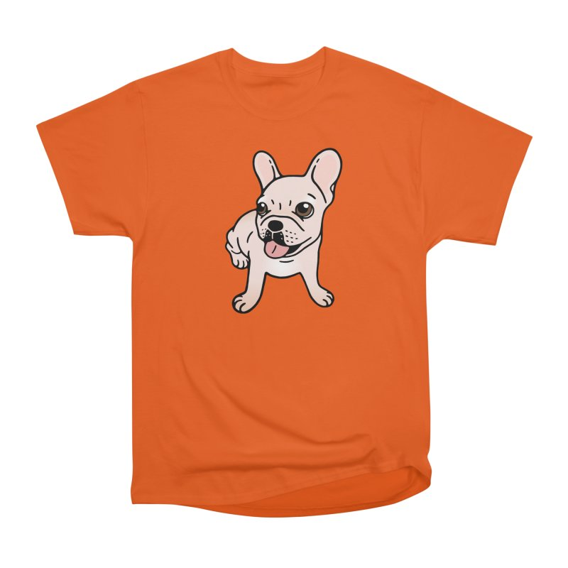 Cute cream Frenchie is ready to play Women's T-Shirt by Emotional Frenchies - Cute French Bulldog T-shirts
