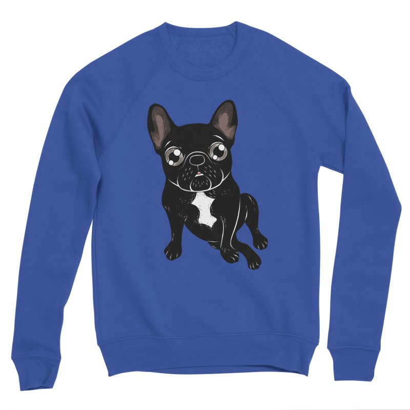 Cute brindle Frenchie is your best friend Women's Sweatshirt by Emotional Frenchies - Cute French Bulldog T-shirts