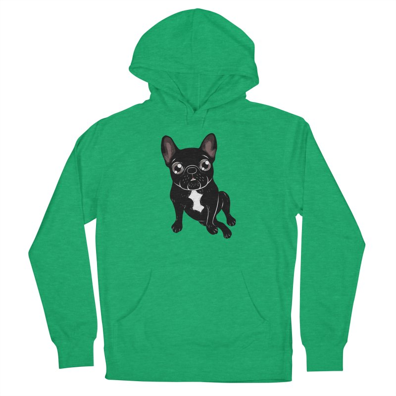 Cute brindle Frenchie is your best friend Women's Pullover Hoody by Emotional Frenchies - Cute French Bulldog T-shirts
