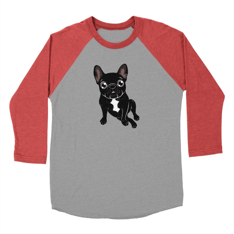 Cute brindle Frenchie is your best friend Men's Longsleeve T-Shirt by Emotional Frenchies - Cute French Bulldog T-shirts