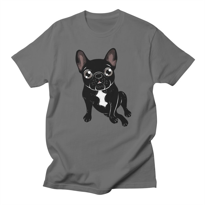 Cute brindle Frenchie is your best friend Men's T-Shirt by Emotional Frenchies - Cute French Bulldog T-shirts