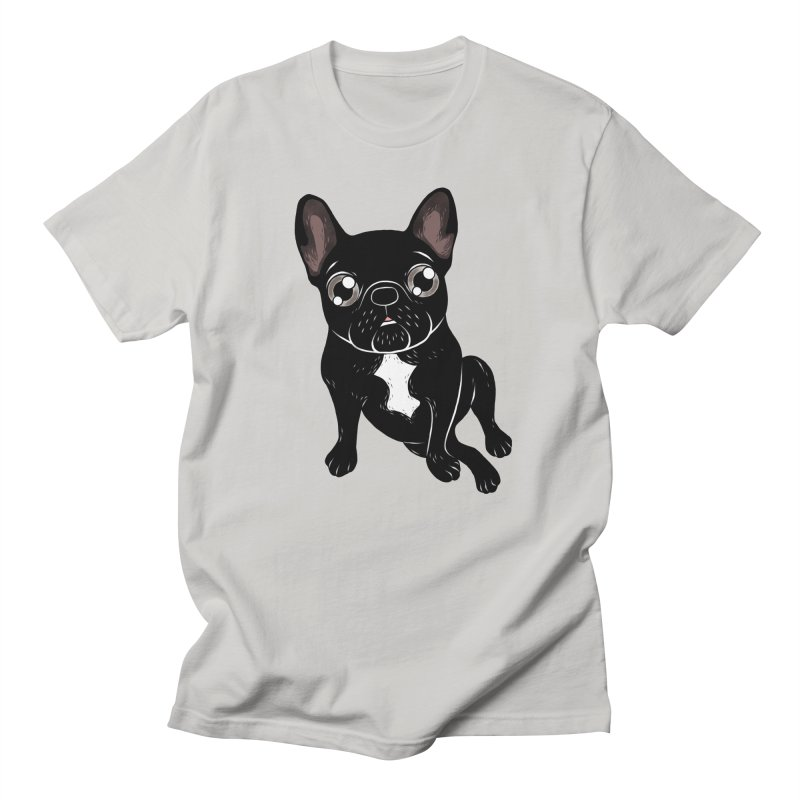 Cute brindle Frenchie is your best friend Men's Regular T-Shirt by Emotional Frenchies - Cute French Bulldog T-shirts