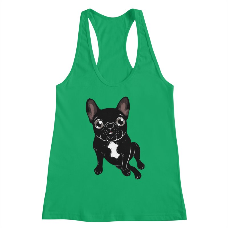 Cute brindle Frenchie is your best friend Women's Tank by Emotional Frenchies - Cute French Bulldog T-shirts