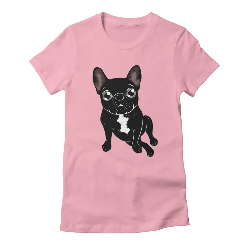 Cute brindle Frenchie is your best friend Women's T-Shirt by Emotional Frenchies - Cute French Bulldog T-shirts