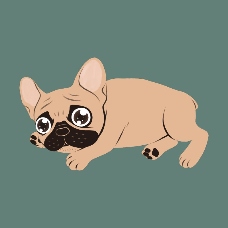Black Mask Frenchie Puppy Needs Your Love by Emotional Frenchies - Cute French Bulldog T-shirts