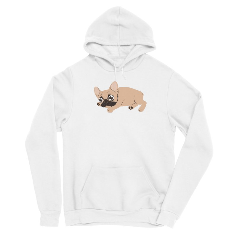 Black Mask Frenchie Puppy Needs Your Love Women's Pullover Hoody by Emotional Frenchies - Cute French Bulldog T-shirts