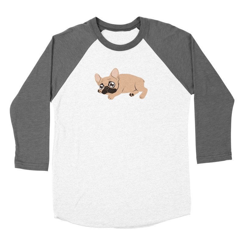 Black Mask Frenchie Puppy Needs Your Love Women's Longsleeve T-Shirt by Emotional Frenchies - Cute French Bulldog T-shirts