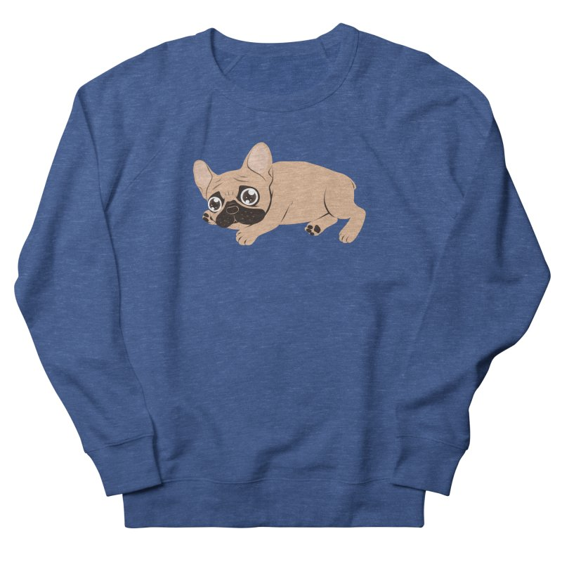 Black Mask Frenchie Puppy Needs Your Love Men's Sweatshirt by Emotional Frenchies - Cute French Bulldog T-shirts