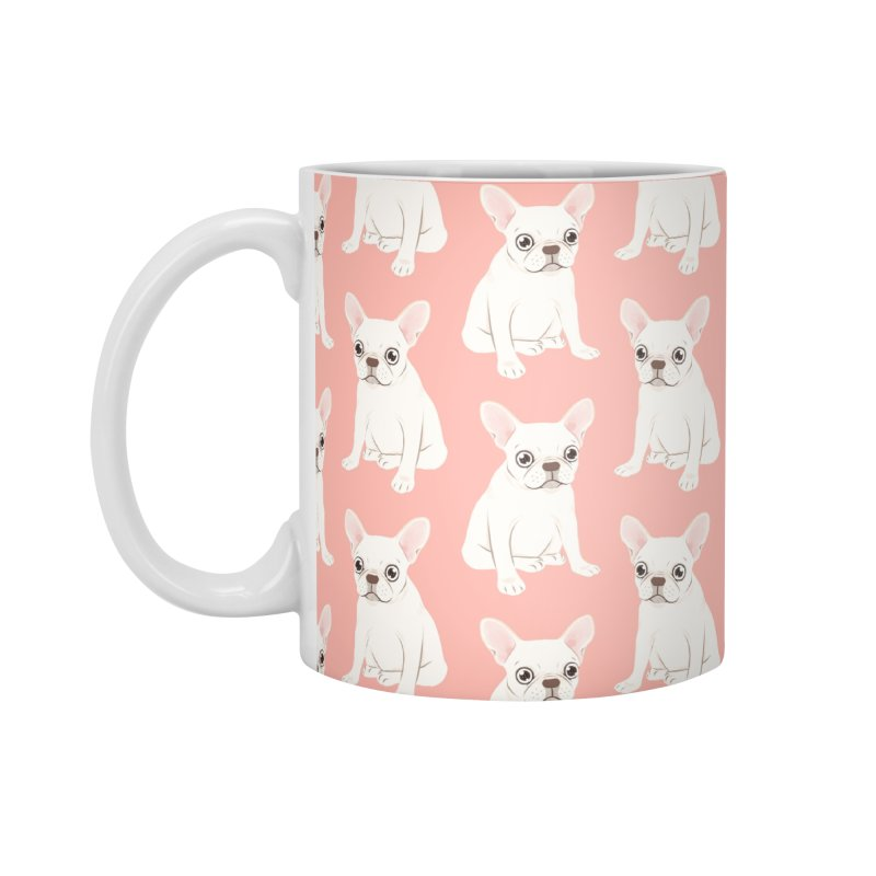 Sweet Cream French Bulldog Wants Your Pet Accessories Mug by Emotional Frenchies - Cute French Bulldog T-shirts