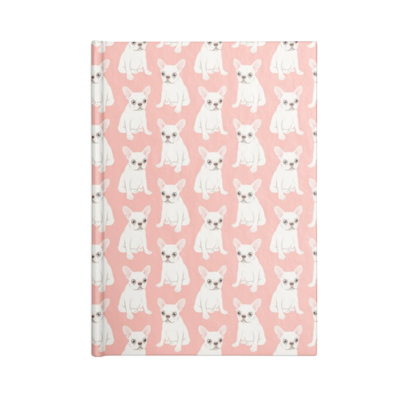 Sweet Cream French Bulldog Wants Your Pet Accessories Blank Journal Notebook by Emotional Frenchies - Cute French Bulldog T-shirts