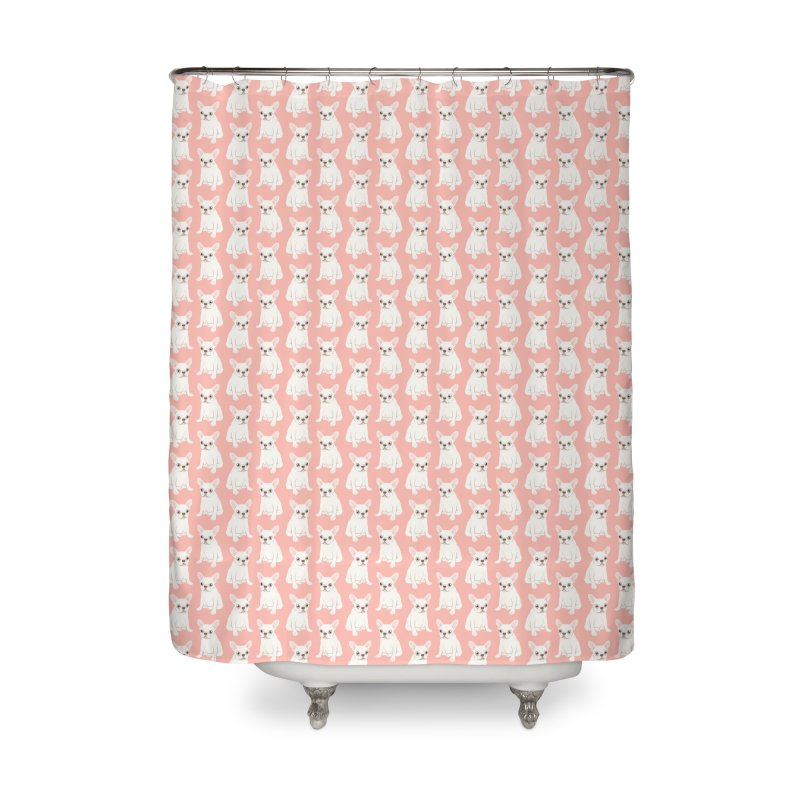 Sweet Cream French Bulldog Wants Your Pet Home Shower Curtain by Emotional Frenchies - Cute French Bulldog T-shirts