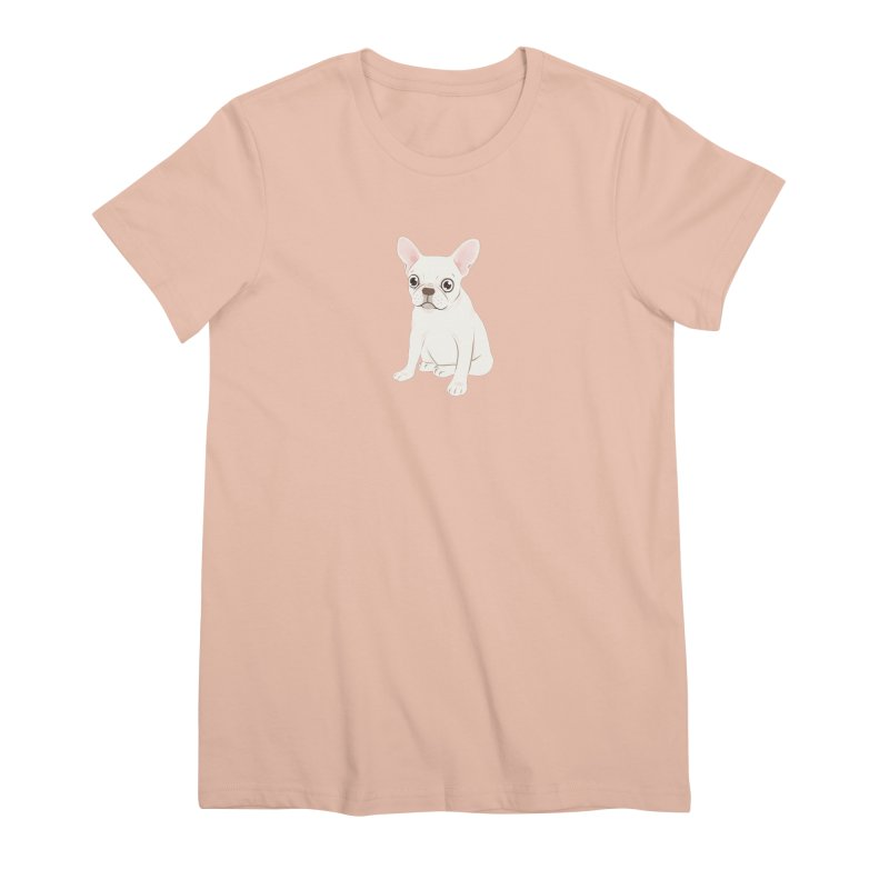 Sweet Cream French Bulldog Wants Your Pet Women's Premium T-Shirt by Emotional Frenchies - Cute French Bulldog T-shirts