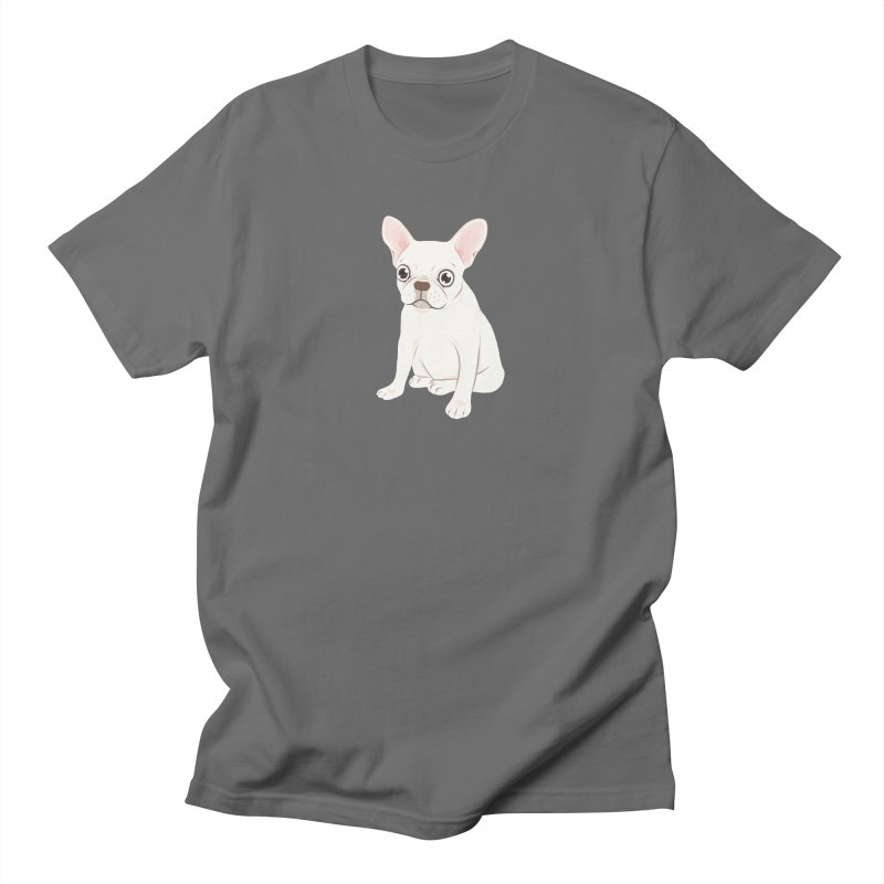 Sweet Cream French Bulldog Wants Your Pet Men's T-Shirt by Emotional Frenchies - Cute French Bulldog T-shirts